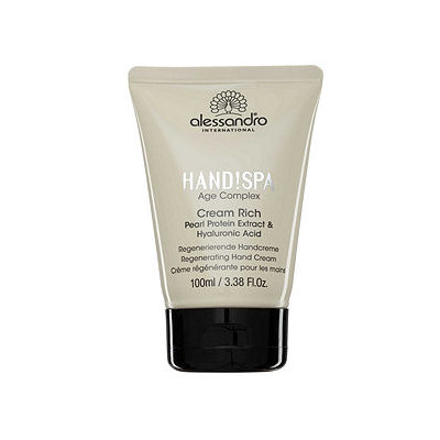 alessandro Cream Rich Regenerating Hand Cream, 3.38 oz
