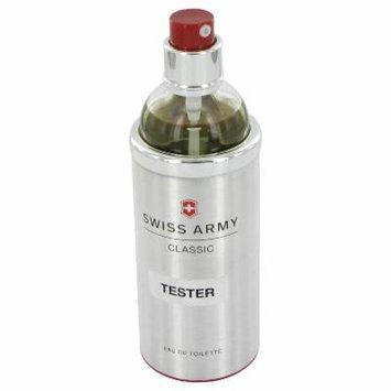 Swiss Army for Men by Swiss Army EDT Spray (Tester) 3.4 oz
