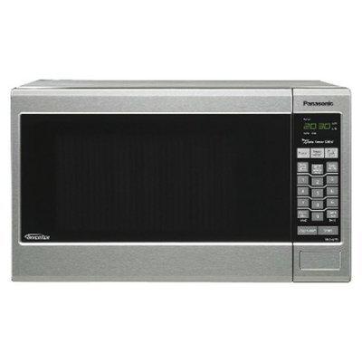 Panasonic Silver 1.2 Cu. Ft. Microwave Oven