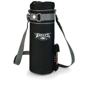 Nfl - Philadelphia Eagles Picnic Time NFL Philadelphia Eagles Wine Sack Digital Print Insulated Single Bottle Tote