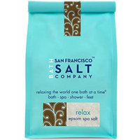 Relaxing Epsom Salts with Lavender Essential Oil 2lbs, 100% Natural Bath Salt