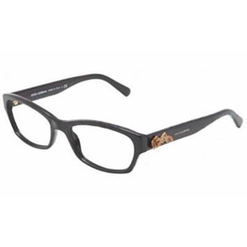 Dolce and Gabbana Glasses 3150 501 Black 3150 Cats Eyes Sunglasses