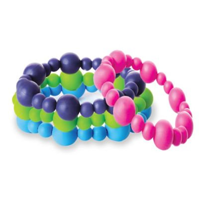 Nixi by Bumkins Bolla Silicone Teething Bracelet - Pink