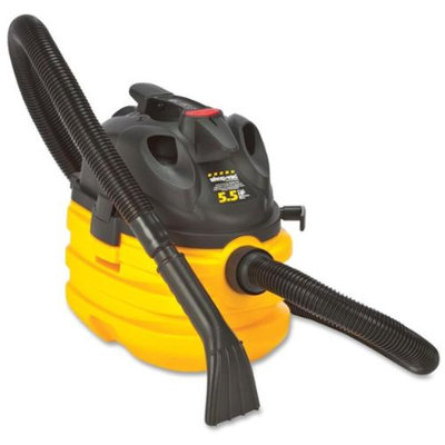 Shop-vac Corporation Shop-Vac Corp Vacuum, Wet Dry, H/D, 5.5Hp, 5 Gal, 20 Ft Cord, Yellow/Black