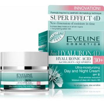 Eveline Cosmetics bioHyalauron 4D Ultra-moisturizing Day and Night Cream 30+