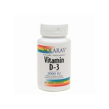 Solaray Vitamin D-3 2000 IU 60 ea