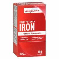 Walgreens Ferrous Sulfate Tablets 100 ea