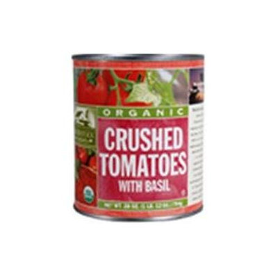 Woodstock Farms 21882 Organic Crushed Tomatoes With Basil