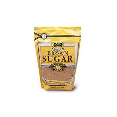 HAIN PURE FOODS Organic Brown Sugar 24 OZ