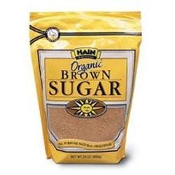 HAIN PURE FOODS Organic Brown Sugar 24 OZ