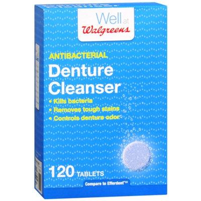 Walgreens Denture Cleanser, 120 ea