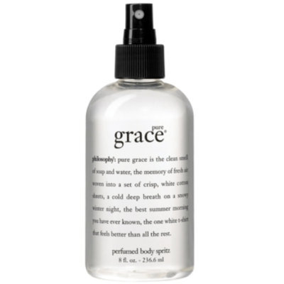 philosophy pure grace all over body spritz