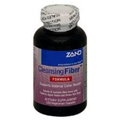 Zand Herbal Cleansing Fiber Psyllium Seed - 200 Veggie Caps - Intestinal/Colon Support