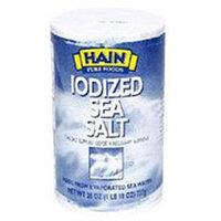 HAIN PURE FOODS Plain Sea Salt 226 OZ
