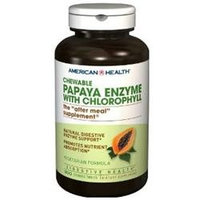 Frontier American Health Chewable Papaya Enzyme with Chlorophyll