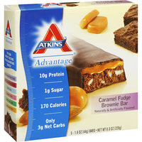 Atkins Advantage Caramel Fudge Brownie Bar
