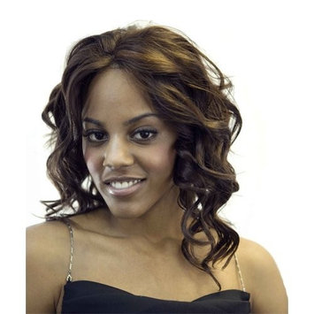 R&B COLLECTION Lace Front Synthetic Wig TOPAZ- Color #1B/33- Off Black/Auburn