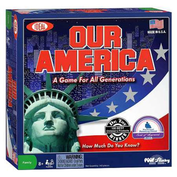 Poof-Slinky Inc Our America Board Game Ages 8+