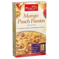 PEACE CEREALS Mango Peach Passion Cereal 10.5 OZ