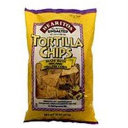 Little Bear Organics 35102 Organic Yellow Tortilla Chips No Salt