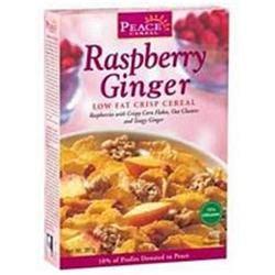 PEACE CEREALS Raspberry Ginger Crisp Cereal 14 OZ