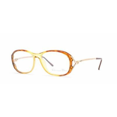 Christian Dior 2627 11 Brown and Gold Authentic Women Vintage Eyeglasses Frame