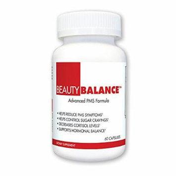 BeautyFit BeautyBalance, Advanced PMS Formula, 60 Count