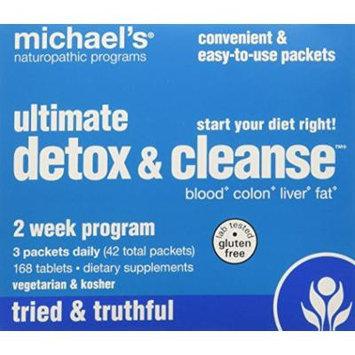 Michael's Naturopathic Programs Ultimate Detox & Cleanse 2-Week Program, Tablets 168 ea