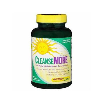 ReNew Life Cleanse More, Vegetable Capsules 100 ea