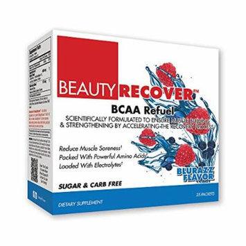 BeautyFit BeautyRecover, BCCA Refuel For Women, Blurazz, Box (25 Packets/Servings)