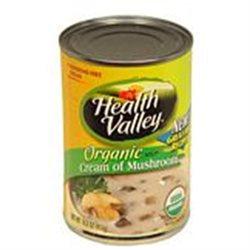 Heath Valley Natural Foods 36560 Organic Cream Mushroom Soup