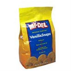 Midel Vanilla Snaps 10 Oz, Pack of 12