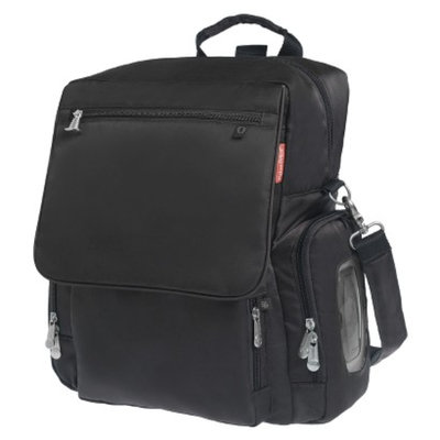 Fisher-Price r-Price Fastfinder Deluxe Convertible Backpack Diaper Bag - Black