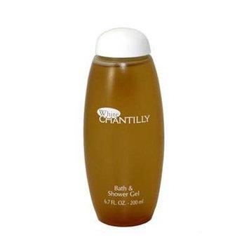 White Chantilly by Dana for Women. Bath & Shower Gel 6.7 Oz / 200 Ml