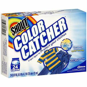 Shout Color Catcher Clothes