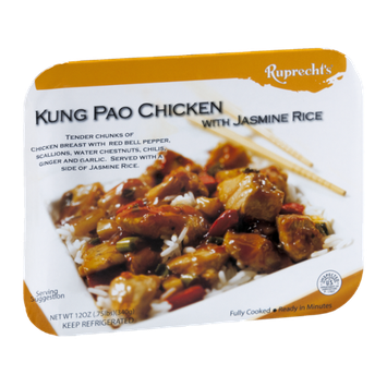 Ruprecht's Kung Pao Chicken with Jasmine Rice Fully Cooked