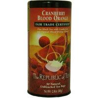 The Republic Of Tea Black Tea, Cranberry Blood Orange Tea Bags, 50 Tea Bag Tin