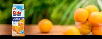 Dole 100% Calcium No Pulp Orange Juice