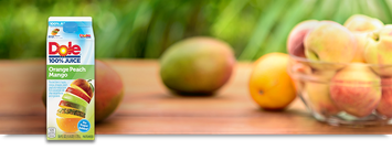 Dole 100% Juice Orange Peach Mango