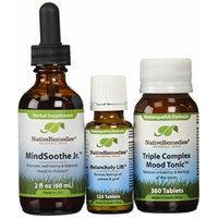 Native RemediesMelancholy Lift, Mindsoothe Jr and TC Mood Tonic 2 fl oz