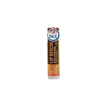 Desert Essence Lip Rescue with Shea Butter -- 0.15 oz Each / Pack of 3