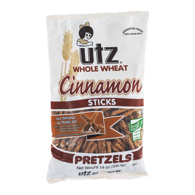 Utz Whole Wheat Pretzels Cinnamon Sticks