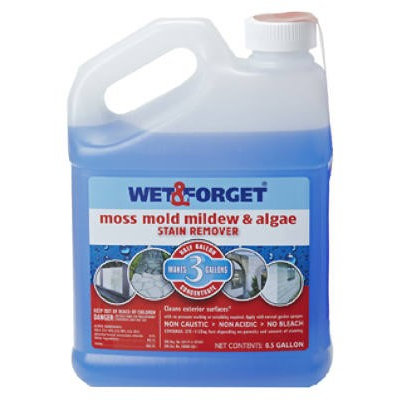Wet & Forget WET AND FORGET 800033CA Mold and Mildew Remover,1/2G
