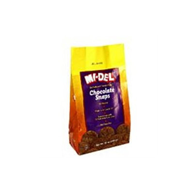 Midel Chocolate Snaps 10 Oz, Pack of 12