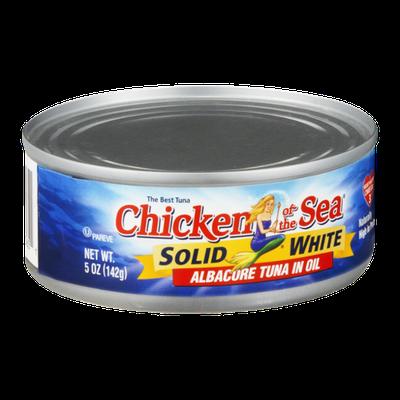 Chicken of the Sea Solid White Albacore Tuna in Oil