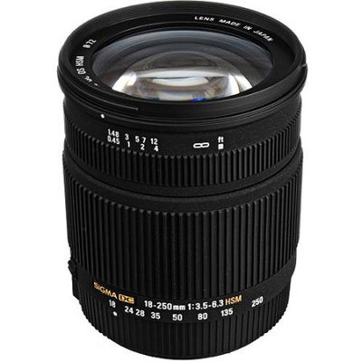 Sigma 18-250mm f3.5-6.3 DC OS HSM Lens - Pentax Fit