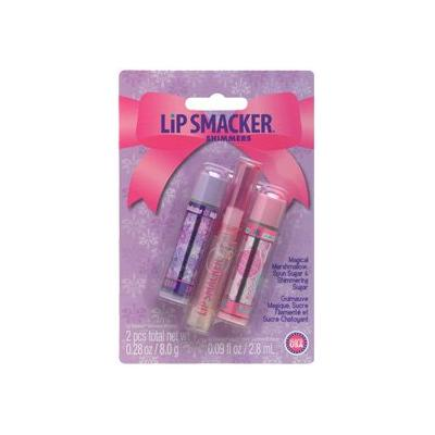 Bonne Bell Lip Smacker Shimmers, Winter Dreams Collection, Includes: Magical Marshmallow, Spun Sugar and Shimmering Sugar.