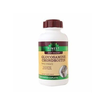 Finest Natural Glucosamine Chondroitin Triple Strength Caplets 240 ea