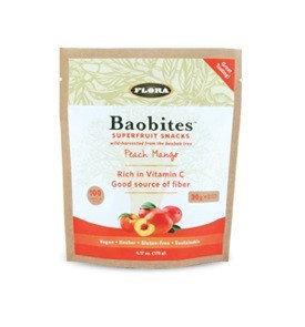 Baobites - Peach Mango Flora Inc 6.17oz Chewable