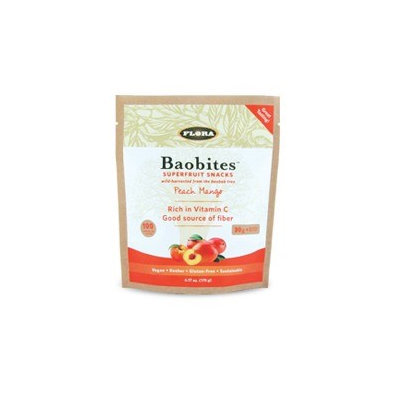 Baobites - Peach Mango Flora Inc 6.17oz Chewable